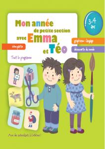 Mon annee de petit section avec Emma et Teo 3-4 partie2