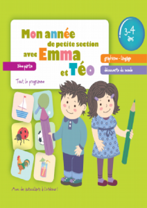 Mon annee de petit section avec Emma et Teo 3-4 partie3